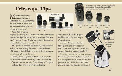 Telescope Tips