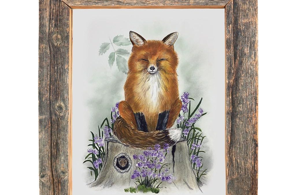 You Can Draw a Red Fox Lesson