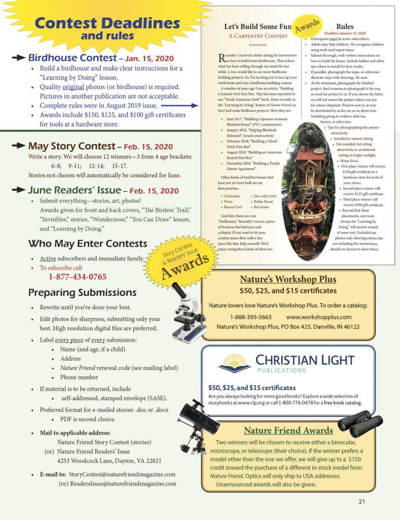 Birdhouse Contest Rules