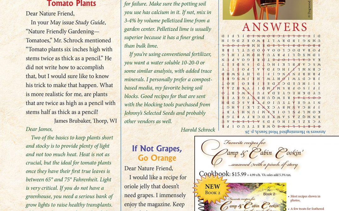 Mailbox, July 2021: Tomato Plants