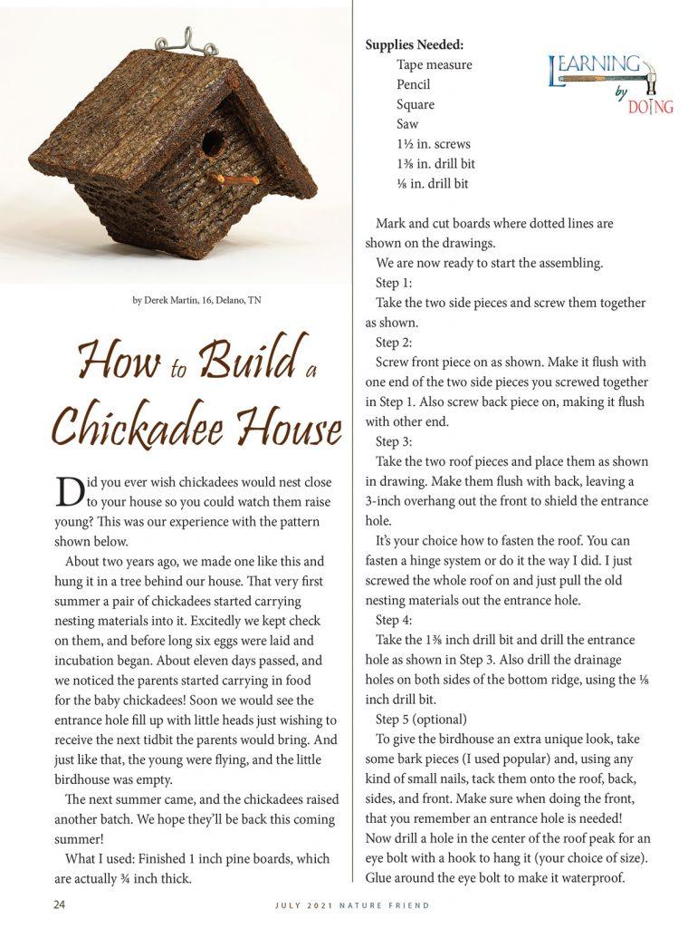 Chickadee House