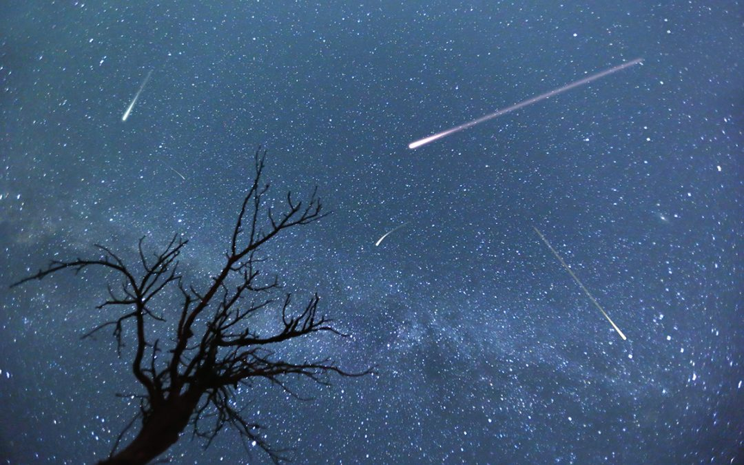 Comet-dust Streaks