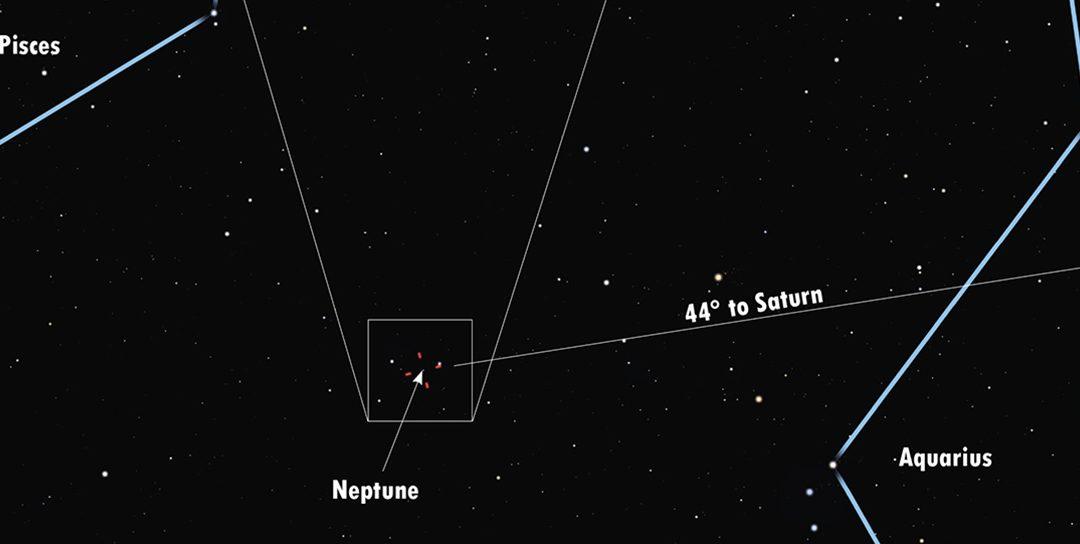 In Our Skies, September 2021, Viewing Neptune
